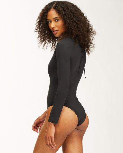 3 Sol Searcher Long Sleeve Swimsuit Black ABJWR00175 Billabong