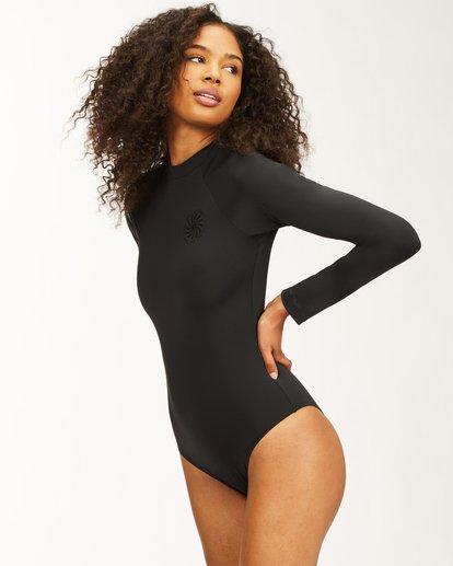 1 Sol Searcher Long Sleeve Swimsuit Black ABJWR00175 Billabong