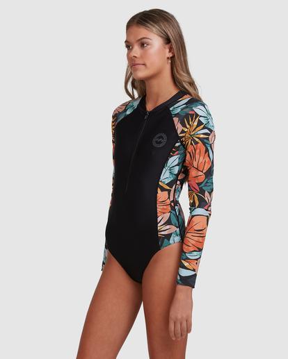 1 Somedaze Long Sleeve Swimsuit Black ABJWR00177 Billabong