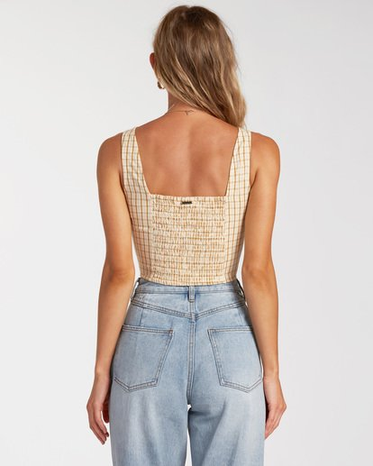 2 Check It Crop Top Grey ABJWT00132 Billabong