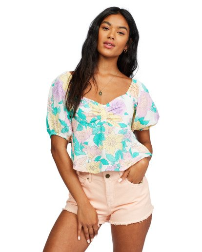 0 In Your Dreams Top White ABJWT00182 Billabong