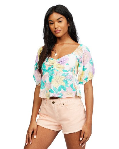 1 In Your Dreams Top White ABJWT00182 Billabong