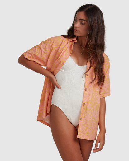 3 Summer Sun Top Orange ABJWT00235 Billabong