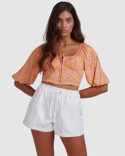 1 Summer Sun Top Orange ABJWT00245 Billabong