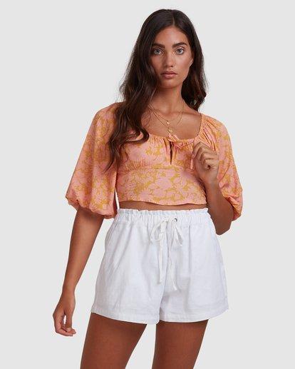 4 Summer Sun Top Orange ABJWT00245 Billabong