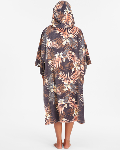 1 Women's Hooded Changing Towel Black ABJWW00101 Billabong