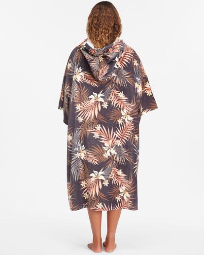 3 Women's Hooded Changing Towel Black ABJWW00101 Billabong