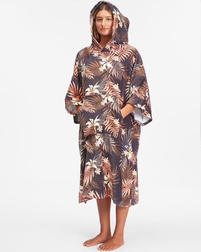 2 Women's Hooded Changing Towel Black ABJWW00101 Billabong