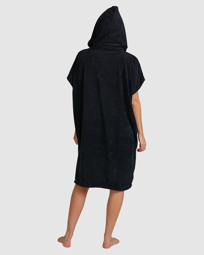 2 Billabong Hoodie Changing Towel Black ABJWW00105 Billabong