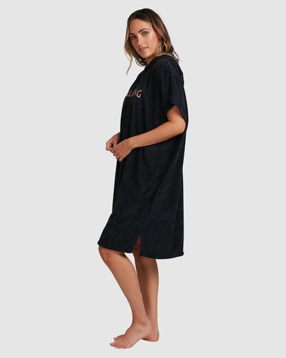3 Billabong Hoodie Changing Towel Black ABJWW00105 Billabong