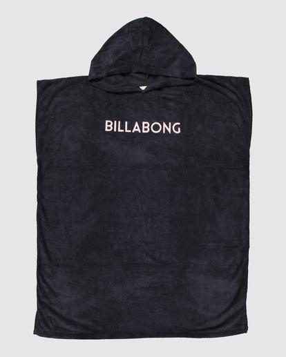 5 Billabong Hoodie Changing Towel Black ABJWW00105 Billabong