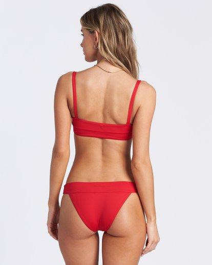 5 Sol Searcher Strappy Tank Bikini Top Red ABJX300103 Billabong