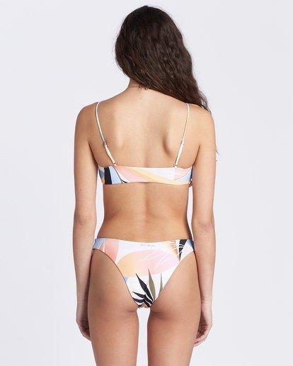 6 Last Rays Skinny Mini Crop Bikini Top Grey ABJX300104 Billabong