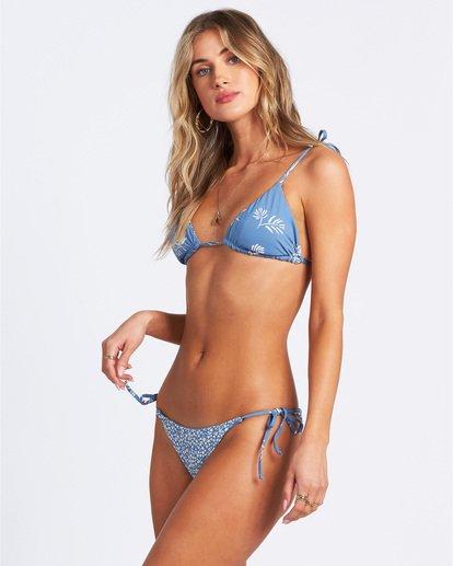 2 Something Sweet Reversible Slide Tri Bikini Top Multicolor ABJX300109 Billabong