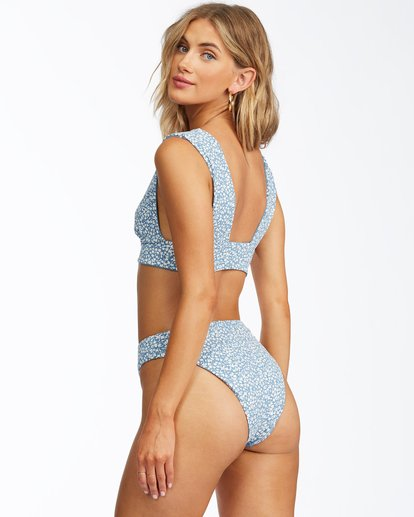 4 Something Sweet Reversible Plunge Bikini Top Multicolor ABJX300112 Billabong