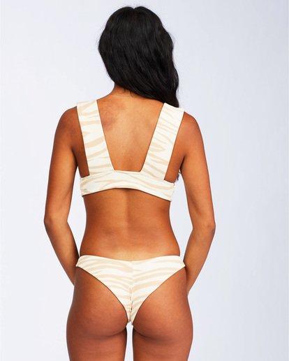 4 Wild Groove Plunge Bikini Top Brown ABJX300113 Billabong