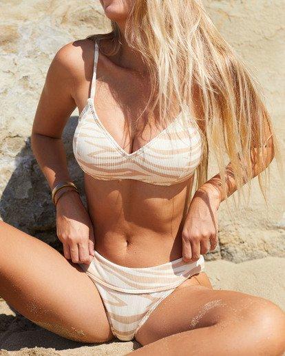 0 Wild Groove Bralette Bikini Top Brown ABJX300115 Billabong