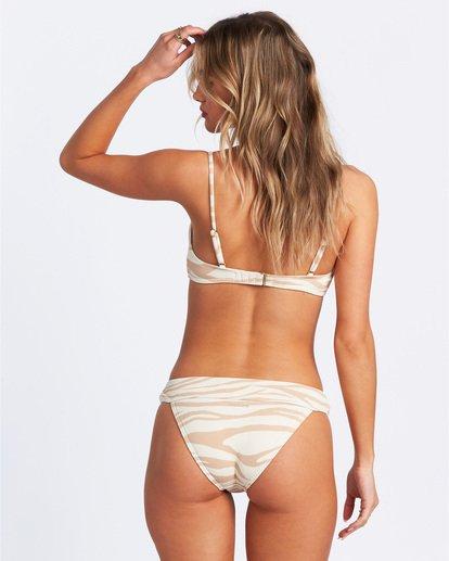 3 Wild Groove Bralette Bikini Top Brown ABJX300115 Billabong