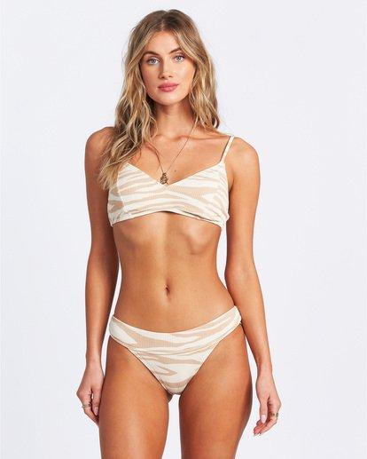 1 Wild Groove Bralette Bikini Top Brown ABJX300115 Billabong