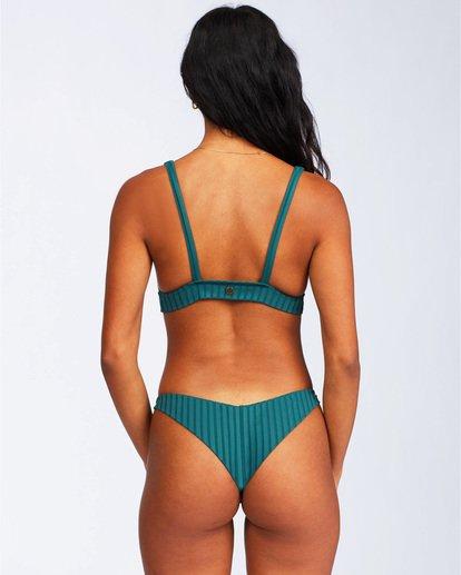 4 Sunny Rib Banded Triangle Bikini Top Green ABJX300124 Billabong