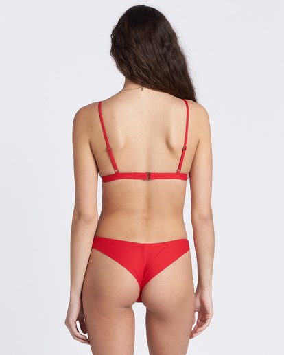 2 Sol Searcher Fixed Tri Bikini Top Red ABJX300129 Billabong