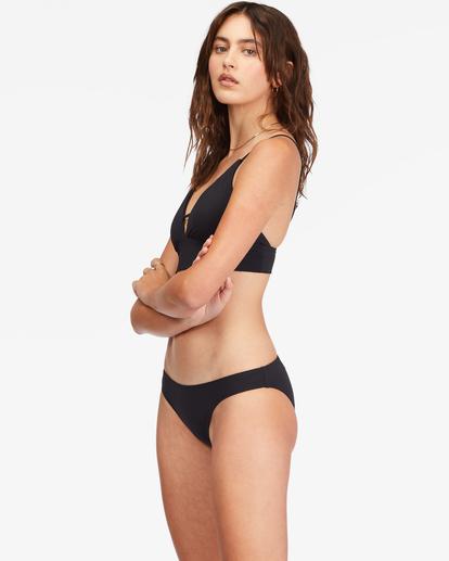 1 Sol Searcher V-Neck Cami Bikini Top Black ABJX300131 Billabong