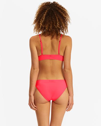 2 Sol Searcher V-Neck Cami Bikini Top Red ABJX300131 Billabong