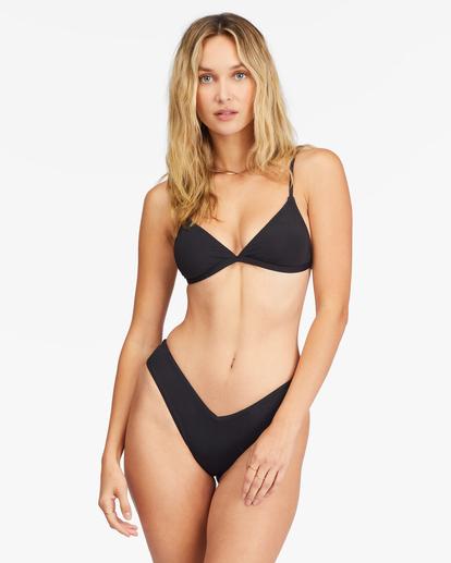 0 Sol Searcher Ceci Triangle Bikini Top Black ABJX300134 Billabong