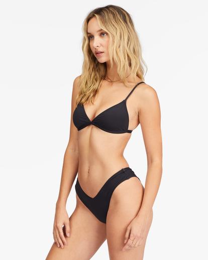 1 Sol Searcher Ceci Triangle Bikini Top Black ABJX300134 Billabong