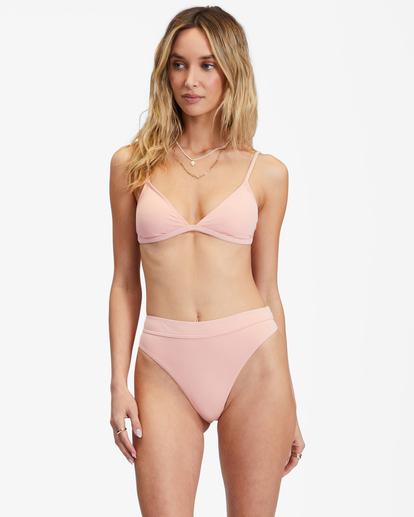 0 Sol Searcher Ceci Triangle Bikini Top Green ABJX300134 Billabong