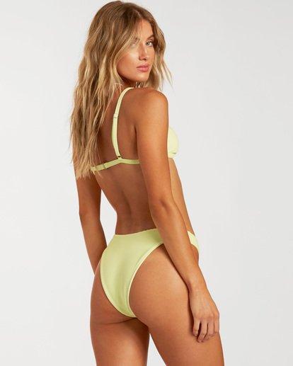 3 Tanlines Ivy Triangle Bikini Top Green ABJX300135 Billabong