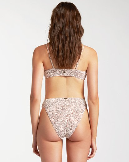2 Wild Shadows Crop Bikini Top Brown ABJX300160 Billabong