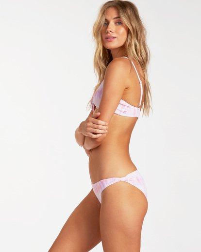 1 Keep It Mellow Knotted Trilet Bikini Top Grey ABJX300182 Billabong