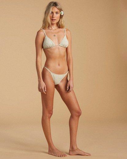 3 Salty Blonde Meet Your Matcha Bikini Top Beige ABJX300190 Billabong