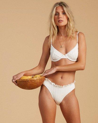 1 Salty Blonde By The Seashore Underwire Bikini Top White ABJX300197 Billabong
