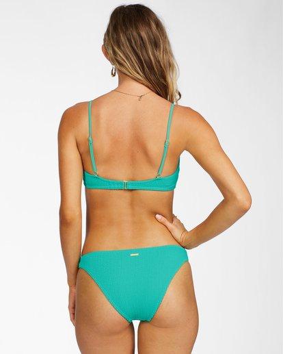 2 Summer High Bralette Bikini Top Green ABJX300206 Billabong