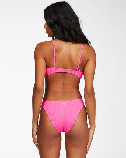 2 Summer High Bralette Bikini Top Pink ABJX300206 Billabong