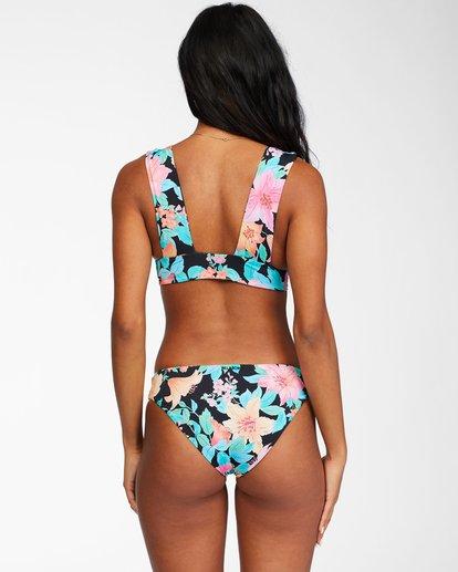 4 Tropic Time Reversible Plunge Bikini Top Grey ABJX300242 Billabong