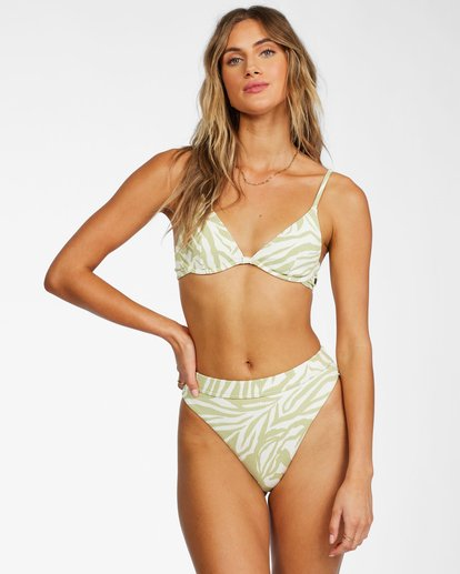 0 Jungle Town Underwire Bikini Top Green ABJX300262 Billabong