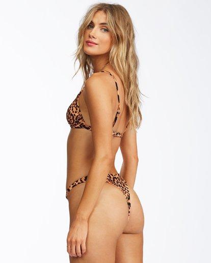 2 Hidden Wild Thin Band Triangle Bikini Top Grey ABJX300267 Billabong