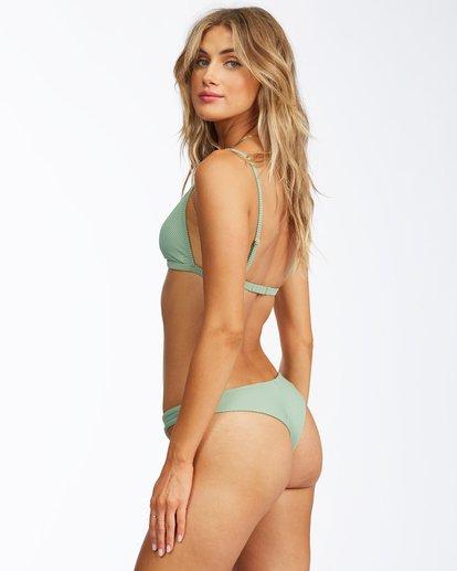 2 Tanlines Ceci Triangle Bikini Top Green ABJX300291 Billabong