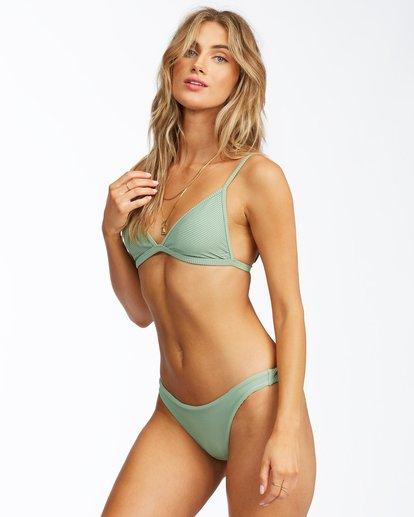 1 Tanlines Ceci Triangle Bikini Top Green ABJX300291 Billabong