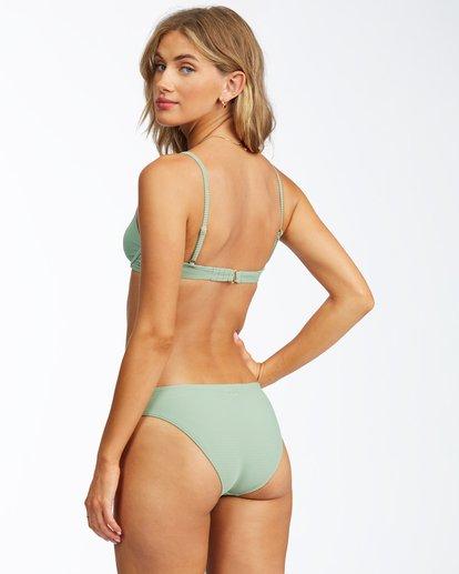 3 Tanlines Reese Underwire Bikini Top Green ABJX300293 Billabong