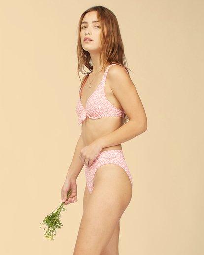2 Wrangler Lil Sweet One Hanky Tie Underwire Bikini Top Multicolor ABJX300307 Billabong