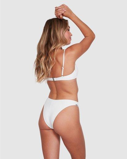 3 Tanlines Gigi Bralette Bikini Top White ABJX300330 Billabong