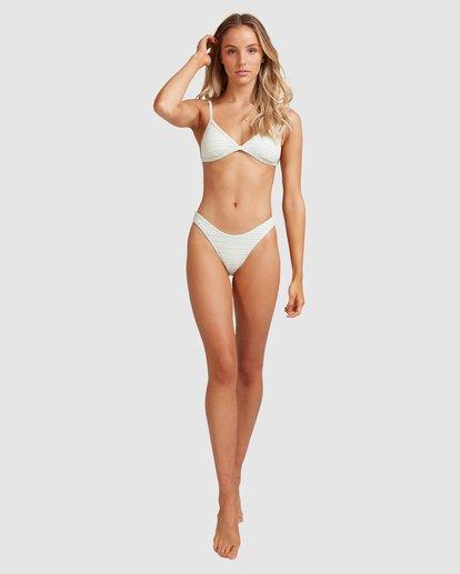 9 Broadwalk Ivy Fixed Tri Bikini Top Blue ABJX300334 Billabong