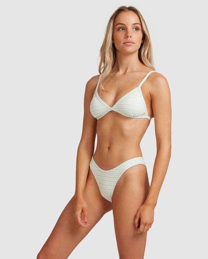 1 Broadwalk Ivy Fixed Tri Bikini Top Blue ABJX300334 Billabong