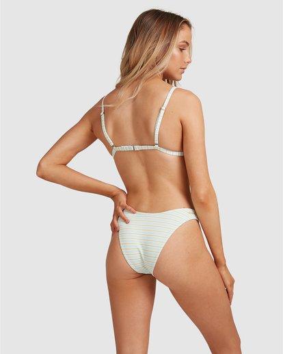 7 Broadwalk Ivy Fixed Tri Bikini Top Blue ABJX300334 Billabong