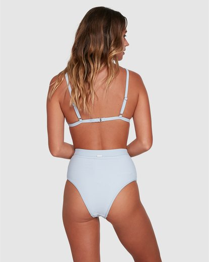 2 Marina Ivy Tri Bikini Top White ABJX300343 Billabong