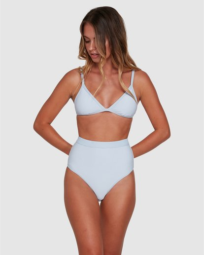 0 Marina Ivy Tri Bikini Top White ABJX300343 Billabong